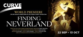 Finding Neverland KIM NOCE SHAUN CLARK GEMMA CARRINGTON JON DRISCOLL HARVEY WEINSTEIN THEATRE ANIMATION PROJECTIONS