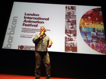 MALCOM TURNER at BEST OF THE FESTIVAL LIAF MIAF 2013 LONDON