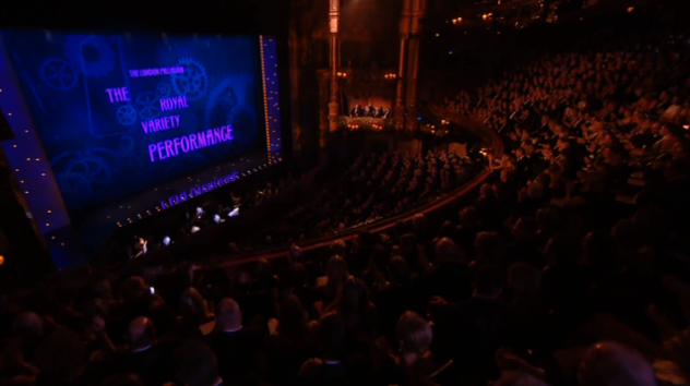 The Royal Variety Performance 2013 Mew Lab Shaun Clark Charlie and the chocolate factory Mendes
